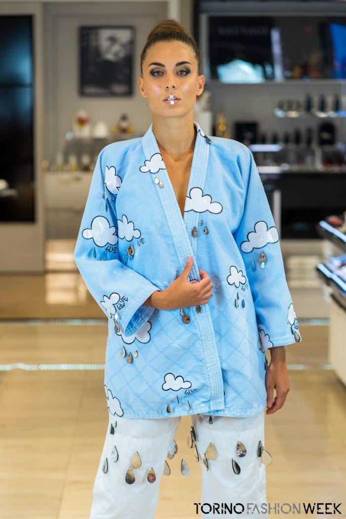 kimono nuvole