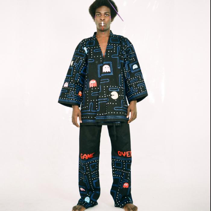 Kimono karate pacman